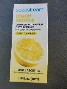 SodaStream - LEMON Drops - Unsweetened Natural Flavor - NO BOX - Best 11/21
