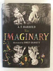 The Imaginary by A. F. Harrold & Emily Gravett Hardback Dust Jacket 2014