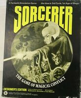 Sorcerer Game of Magical Conflict SPI Flat Tray 1975 Fantastic Simulation Game