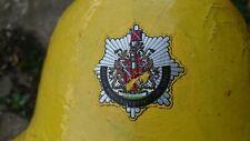 More details for vintage greater manchester fire service fireman's helmet
