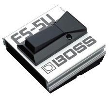 Boss FS-5U Fußtaster Profi Bestseller Musik Zubehör Gitarre Bass Keyboard Pedal