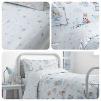 Bedlam - Billy Bunny Rabbit Tea Party - Kids Childrens Duvet Cover Ser / Bedding