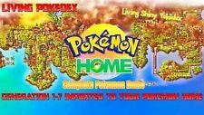 Pokémon Home Sword & Shield Completion *Pokémon Home *Very Fast Delivery