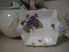 Small Shelley dish R Violets 13821