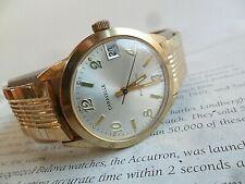 Original Dial Vintage 1976 Men's Bulova Caravelle Automatic Mechanical Watch