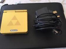 Game Boy Advance SP Legend of sistema portátil Zelda Gold-Perfecto Estado