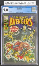 Avengers #67 CGC 9.0 OFF-WHITE Pages! ULTRON-6 Appearance!