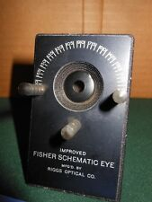 Fisher Schematic Eye Improved Model Riggs Optical Company
