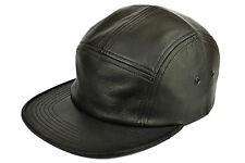 SSUR - THE PREMIUM LEATHER 5 PANEL CAP - AUTHENTIC LAMBSKIN - IMPORTED FROM USA