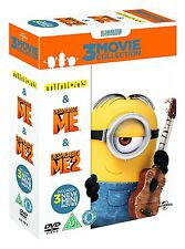 Minions Despicable Me 1 2 Complete 3 Movie Collection New sealed DVD Box Set