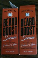 (2) WILD WILLIES BEARD BOOST SERUM 1 oz