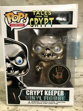 Funko Pop Horror CUSTOM Metallic Tales from The Crypt The CryptKeeper Rare TV