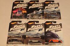 Lot of 6 Hot Wheels 1/64 Fast & Furious Diecast Movie Cars Nissan Skyline S2000