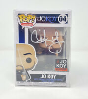 FUNKO POP! COMEDIANS #04 - JO KOY SIGNED w/HARD PLASTIC STACK PROTECTOR!