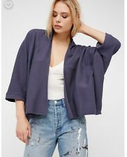 New With Tag Free People Downtown Cardigan. Blue Size XS/S $78