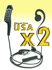 Swivel Earpiece C-Shape Retail Store for Motorola MOTOTRBO XPR6550 XPR7350e 7580