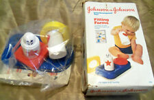 Johnson & Johnson CHILD DEVELOPMENT TOYS 'Fitting Forms' VINTAGE NEW O.S.  RARE