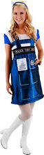 DOCTOR WHO - Tardis Costume Dress ~ Small / Medium (Elope) #NEW