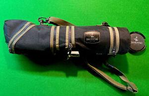 Swarovski Habicht AT 80 HD x60 Spotting Scope, Camouflage & Swarovski tripod.