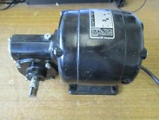 BODINE ELECTRIC DC MOTOR 1/8HP 115V 86 RPM NSH-54RL