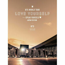 BTS WORLD TOUR LOVE YOURSELF SPEAK YOURSELF JAPAN EDITION first limited DVD