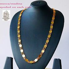 Women Men 24K Yellow Gold Plated Snake Chain Necklace Jewelry   H78
