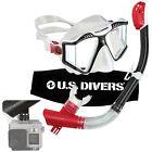 U.S. Divers GoPro-Ready Adult Snorkel & Mask Set Submersible Camera Mount Gear