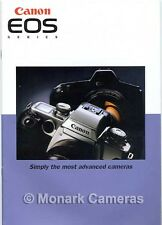 Canon EOS 1n, 5, 50, 500n, 5000 Camera & Lens Brochure. More Catalogues Listed