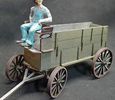 FREIGHT WAGON G F 1:20.3 Scale Model Railroad Unpainted Wood Laser Kit GMFRF