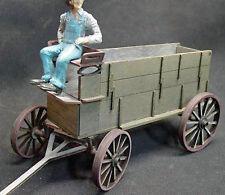 FREIGHT WAGON G F 1:20.3 Scale Model Railroad Unptd Wood Laser Kit GMFRF