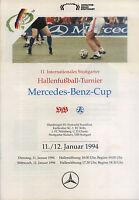 11./12.01.1994 DFB-Masters Stuttgart mit Hamburger SV, Eintracht Frankfurt, ...