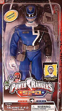 POWER RANGERS S.P.D. Collection_12 inch BLUE Talking S.P.D. POWER RANGER_MIP_New