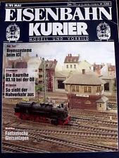 Eisenbahn Kurier n°5 1991 - Die Baureihe 03.10 bei der DB -  Tr.21