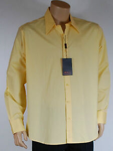 chemise homme jaune BEN SHERMAN taille XL