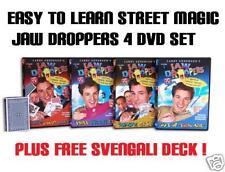 MAGIC JAW DROPPERS' TRICKS BY LARY ANDERSON 4 DVD Set