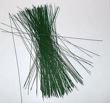 100 x Steckdraht 0,8 x 300 mm grün Basteldraht Blumendraht Draht Stützdraht