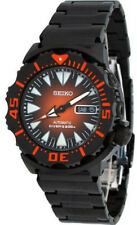 Seiko SRP311 Mens Watch 2nd Generation Monster Stainless Steel Case and Bracelet
