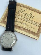 Vacheron & Constantin LeCoultre 14K W Gold Galaxy Diamonds Dial W/ Papers Watch