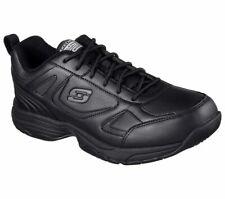 Men's Skechers Slip Resistant Work Relaxed Fit Dighton SR  Sneaker Black 77111