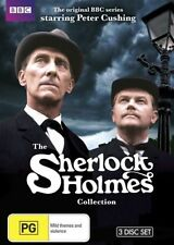 The Sherlock Holmes Collection - Peter Cushing NEW R4 DVD
