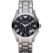 NEW EMPORIO ARMANI AR0673 MENS CHRONOGRAPH WATCH - 2 YEAR WARRANTY