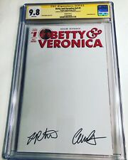CGC SS 9.8 Betty and Veronica v3#1 Variant signed Camila Mendes & Lili Reinhart