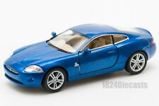 Jaguar XK Coupe in blue, Kinsmart KT5321D, 1:38 scale, 5 inch model toy car gift