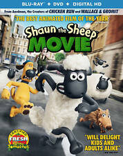 Shaun the Sheep Movie (Blu-ray Disc only, 2015)