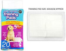 20PC pastillas de gran entrenador de Entrenamiento Cachorro Inodoro Pee absorbente tapetes Mascotas Perro Gato