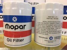Oil Filter Red White Blue  Mopar 1851658 L-72  V8 383 440 HEMI 340