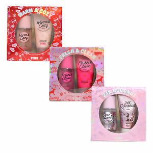 Victoria's Secret Pink 2 Piece Gift Set Body Mist Scented Lotion 2.5 oz New Vs