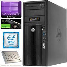 Hp Z620 Estación de Trabajo Xeon E5-1620 Ram 16gb+Quadro 600+ SSD 120gb+ HDD