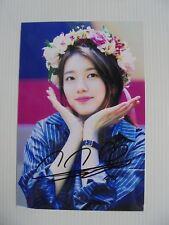 Suzy Bae Miss A 4x6 Photo Korean Actress KPOP autograph signed USA Seller SALE 4