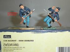 BRITAINS 17290 UNION INFANTRY CASUALTIES METAL TOY SOLDIER FIGURE SET